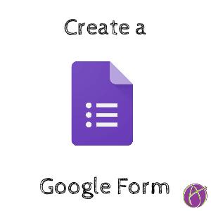 Create a Google Form