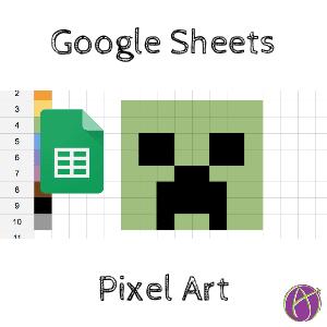 Google Sheets: Pixel Art Template - Teacher Tech