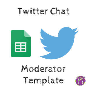 Twitter Chat Moderator Template