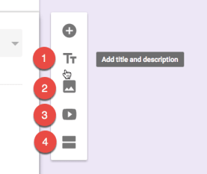 floating toolbar in Google Forms