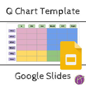 Q Chart Template in Google Slides