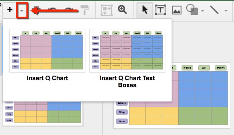 google slides q chart template use layouts