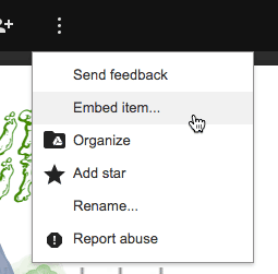 Embed a pdf with more options