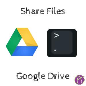 Sharing in Google Drive