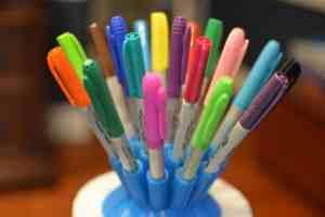 make a pen holder
