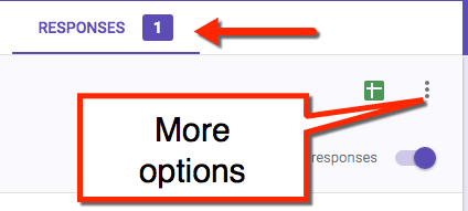 responses more options google forms