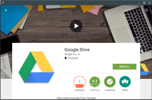 Google Drive app for Android on my Chromebook Alice Keeler