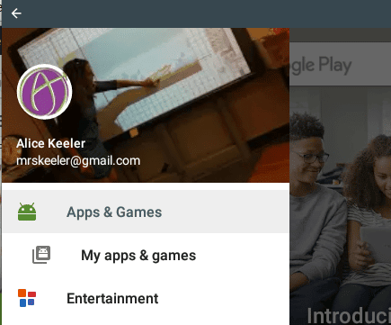 Choose My Apps and Games
