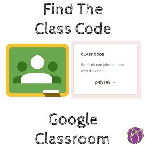 Find A Code >> Google Classroom Find The Class Code It Moved Teacher Tech