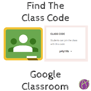 Find A Code >> Google Classroom Find The Class Code It Moved Teacher Tech