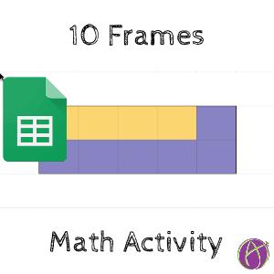 pinto ten frames google sheets activity