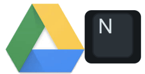 Google Drive Press N to rename