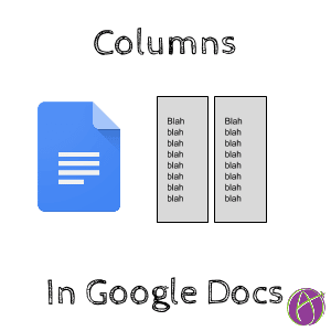 columns in google docs