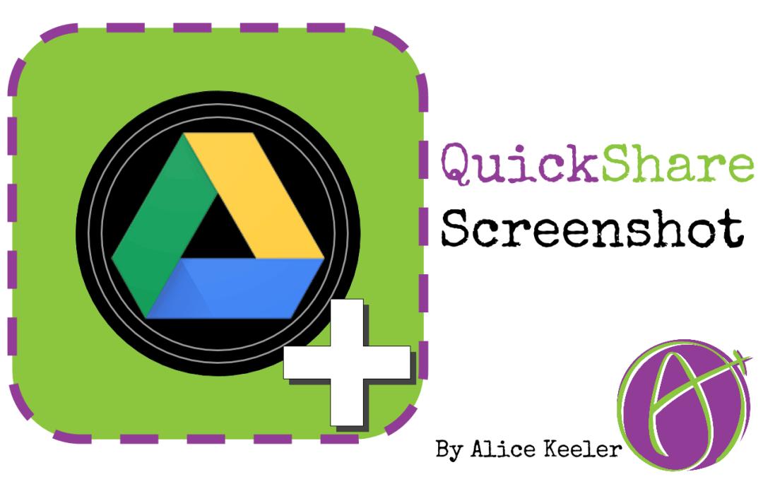 quickshare screenshot