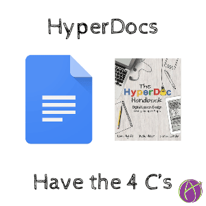 hyperdocs throw in the 4 Cs