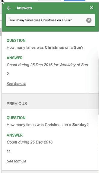 how many days did Christmas fall on a Sunday