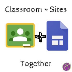 New Google Sites + Google Classroom - Teacher Tech