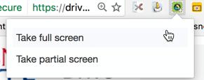 take a full screenshot