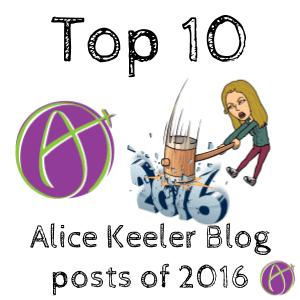 2016 top blog posts alice keeler