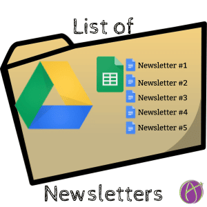 List of Newsletters