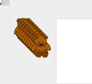 duplicate the bear