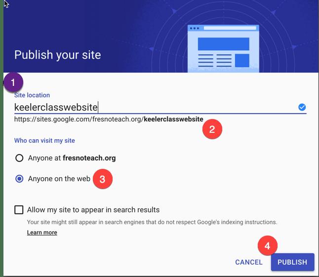 web URL