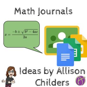 Math journal ideas by Allison Childers (1)