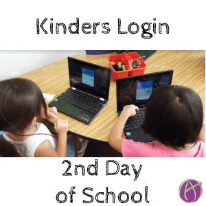 Kinder login 2nd day
