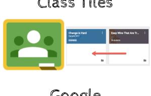 Rearrange Class Tiles in Google Classroom