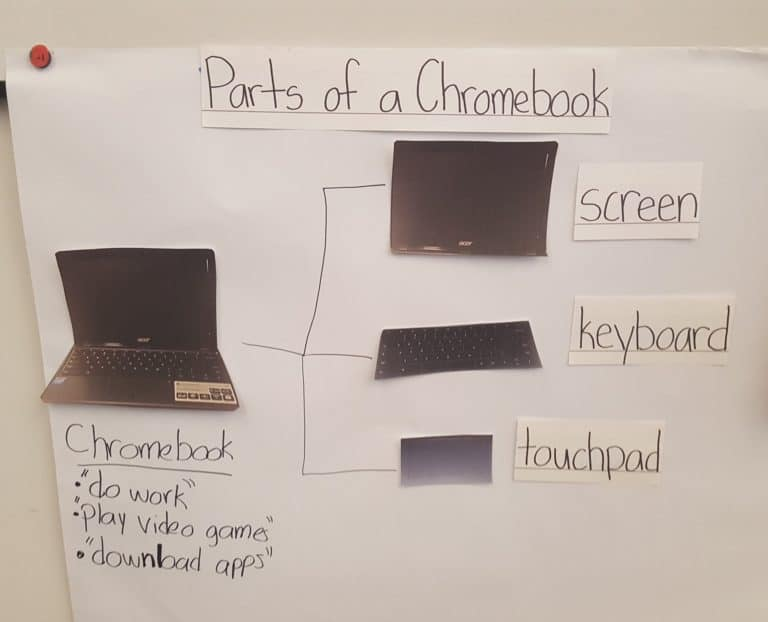 parts of a chromebook pinto