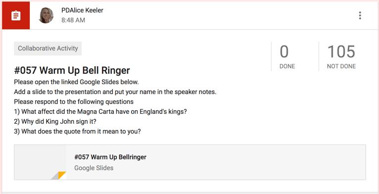 Create a bell ringer in Slides