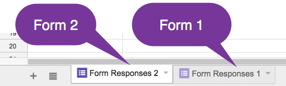 multiple tabs in the same spreadsheet