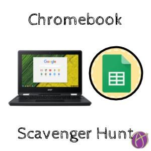 Chromebook Scavenger Hunt