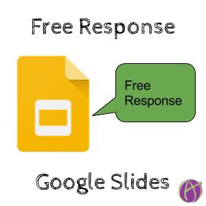 Free Response Google Slides