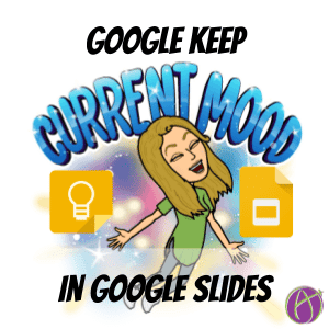 google keep in Google Slides
