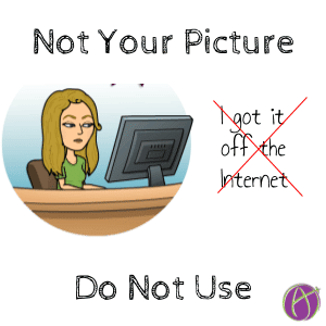 not your picture