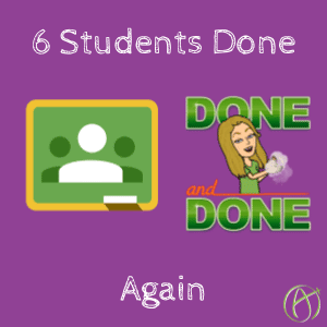 students done after I reviewed