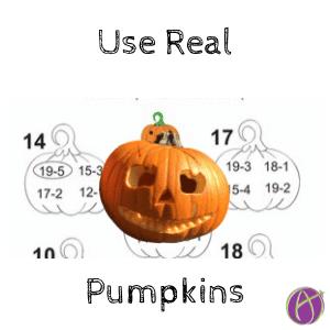 use real pumpkins