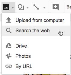 search the web google slides