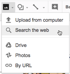 search the web google slides