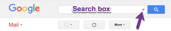 Search box in Gmail