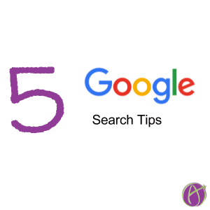 5 Google Search tips