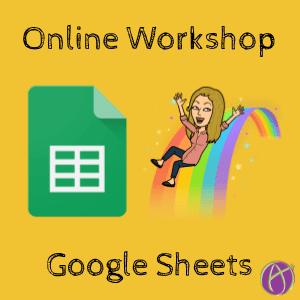 online workshop google sheets