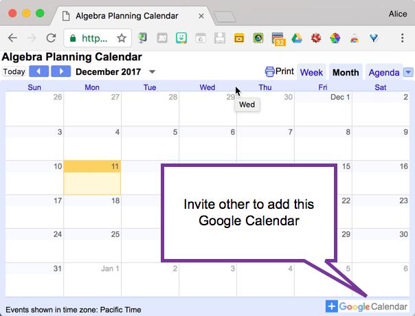 Add this calendar to your calendar