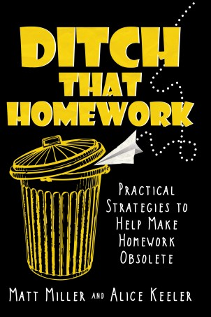 Ditch that homework book