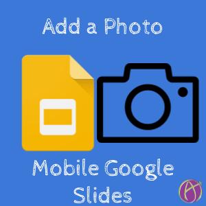 photo mobile google slides