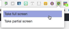 Take a screenshot with QuickShare Screenshot
