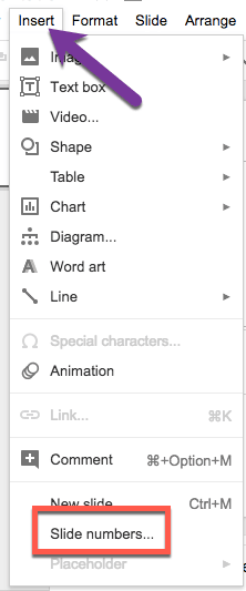 how to add comment on google slide