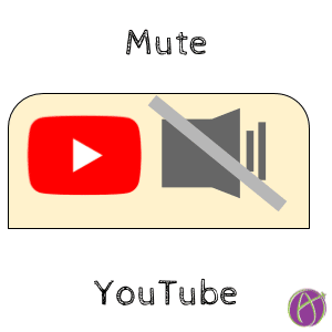 mute youtube