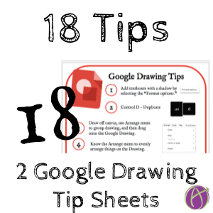 18 Google Draw Tips by Alice Keeler